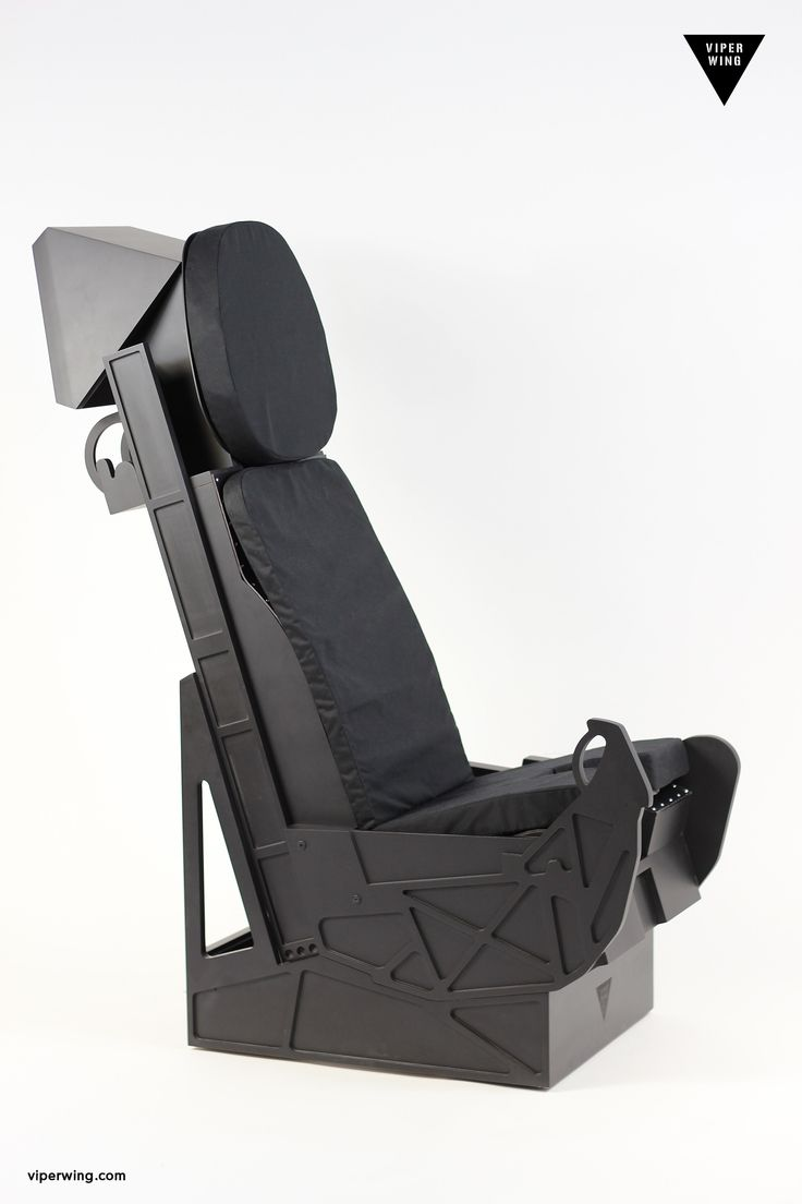 First worldwide F-35 inspired ejection seat replica! www.viperwing.com