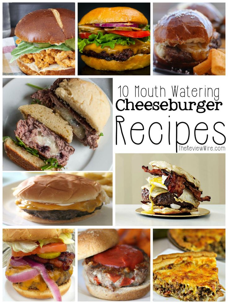 10 Delicious Cheeseburger Recipes | The Review Wire
