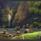 Waterfall by Adam Nichols