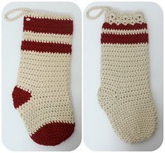 Forget spending all of your money on fancy store-bought Christmas stockings, why not make your own!?