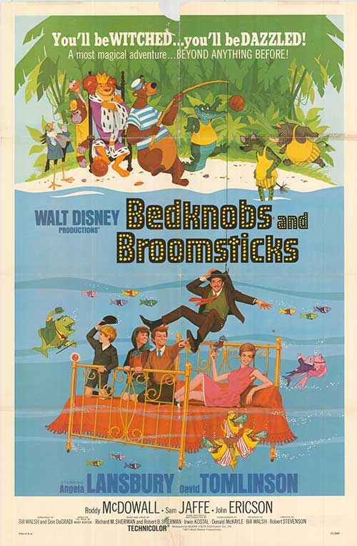 Bedknobs And Broomsticks (1971) -- This is important to me because I know a lot about Disney, so all of the classics have a special meaning to me.