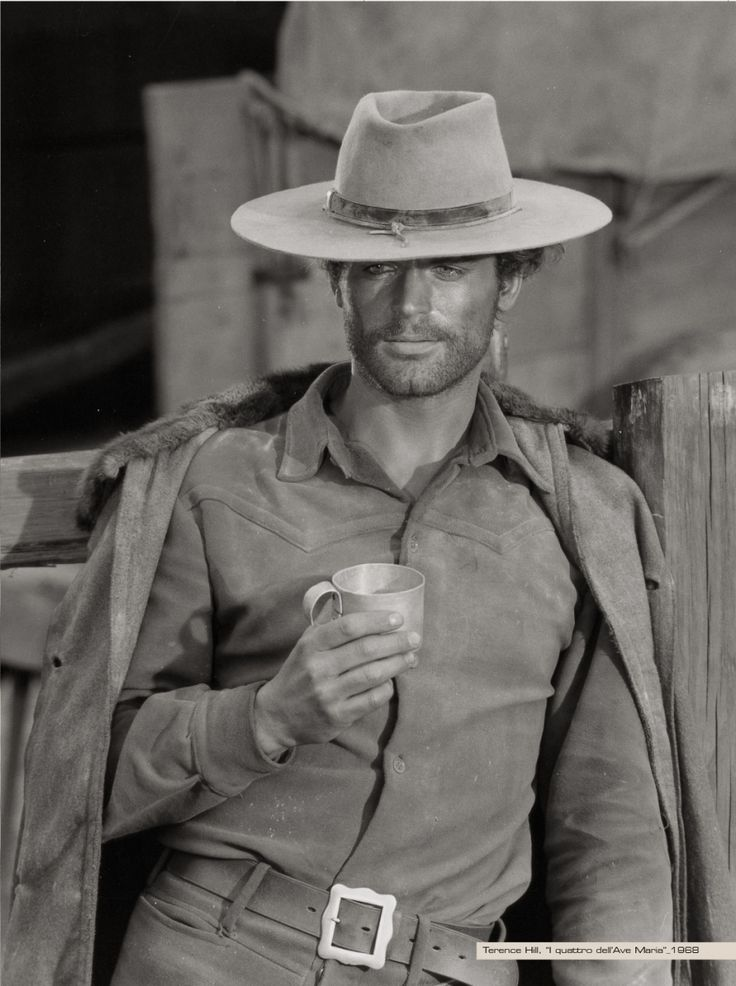 Terence Hill. I loooove his Spaghetti Westerns with Bud Spencer.