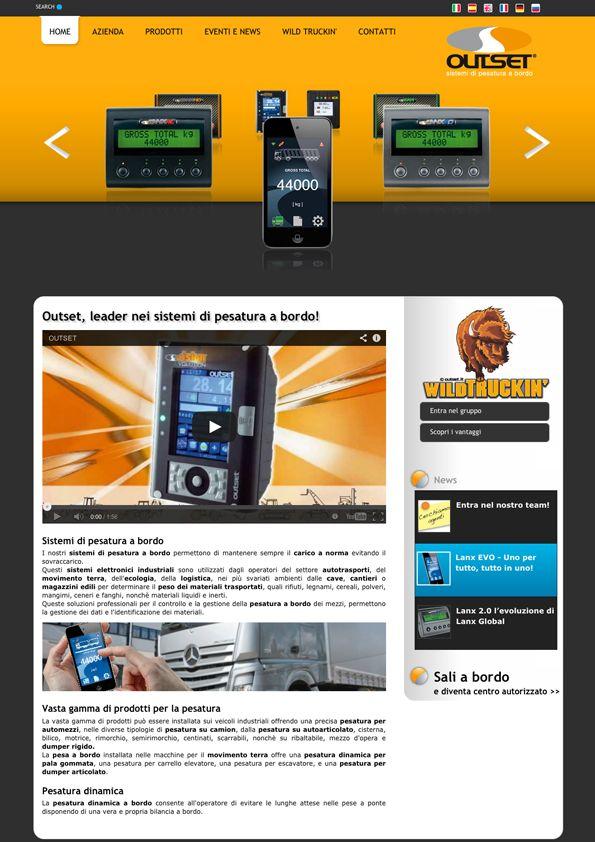 Outset - Sito Internet BtoB #webdesign #industrial http://www.outset.it