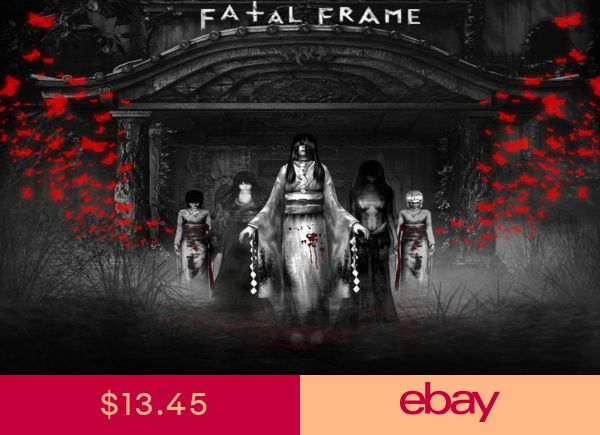 Fatal Frame Huge Poster 15 x 24 INCH ( Fast Shipping
