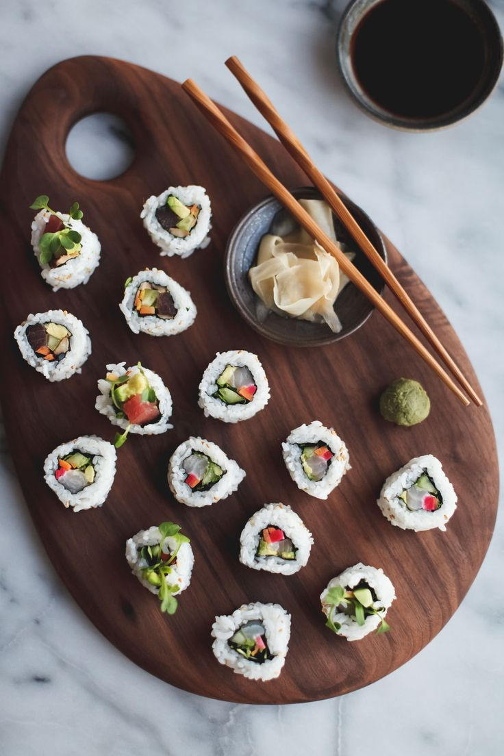 DIY Sushi at Home with a sushi-making video -  Snixy Kitchen