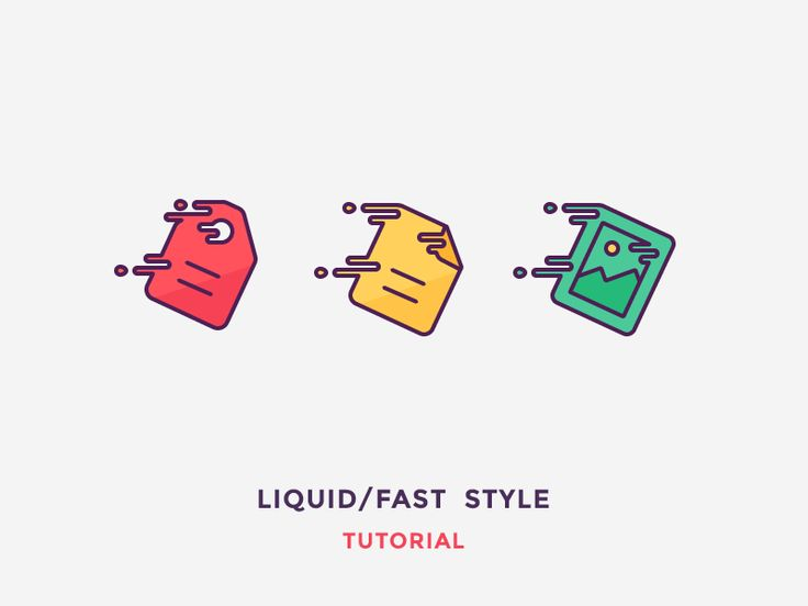 Hey guys! I've just posted article on how to create liquid / fast looking icons. Check it out on Icon Utopia: Liquid / Fast Icon Tutorial Worth checking out: Icon Utopia   Icon Shop   Pinte...