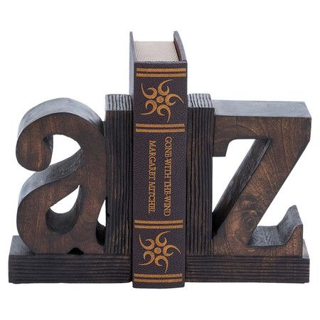 Alphabet Bookend (Set Of 2)
