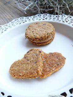 Delicious blog: Ovesné sušenky slepované burákovým máslem