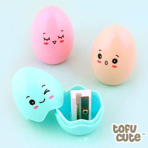 Buy Kawaii Cracked Egg Pencil Sharpener at Tofu Cute