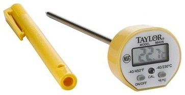 Taylor Commercial Waterproof Instant-Read Thermometer - contemporary - Timers Thermometers And Scales - Target