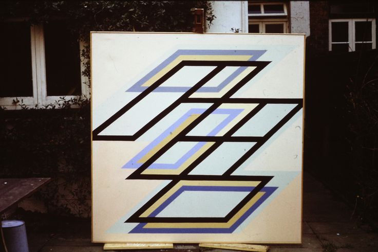 2_68 by Ian Fraser 1968 oil on canvas