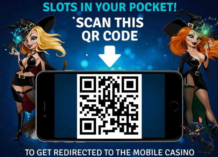 Dreams mobile casino QR code with offer 25 free