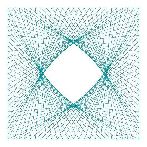 String Design Templates Pentagon