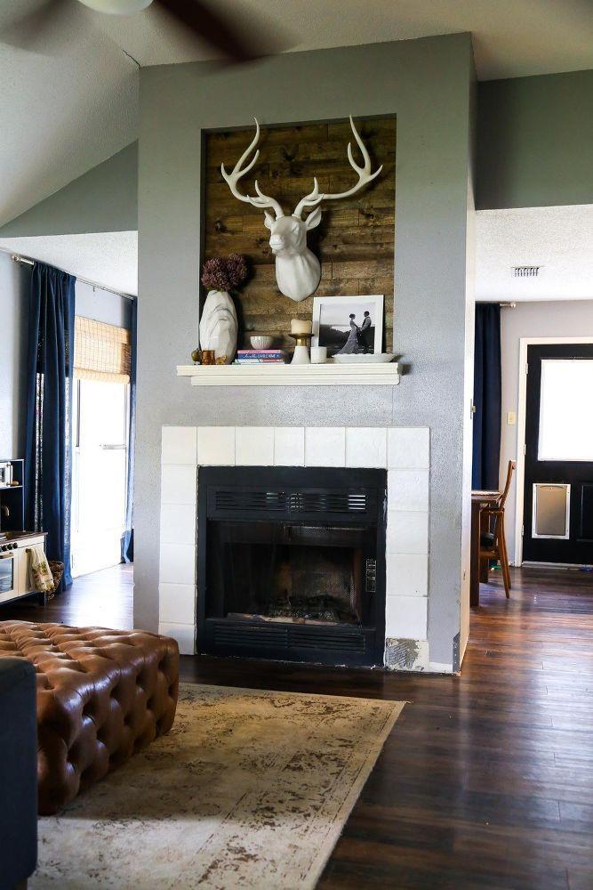 Diy Fireplace Makeover Diy Fireplace Makeover Diy Fireplace Old Fireplace