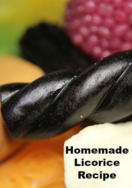 Homemade Licorice Recipe