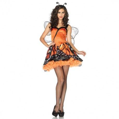 Disfraz de mariposa de Leg Avenue. Para volar alto en los Caranavales, que ya se acercan.  Cómpralo aquí: http://www.losplaceresdeadanyeva.com/es/disfraces/6210-leg-avenue-disfraz-femenino-de-mariposa-714718435282.html