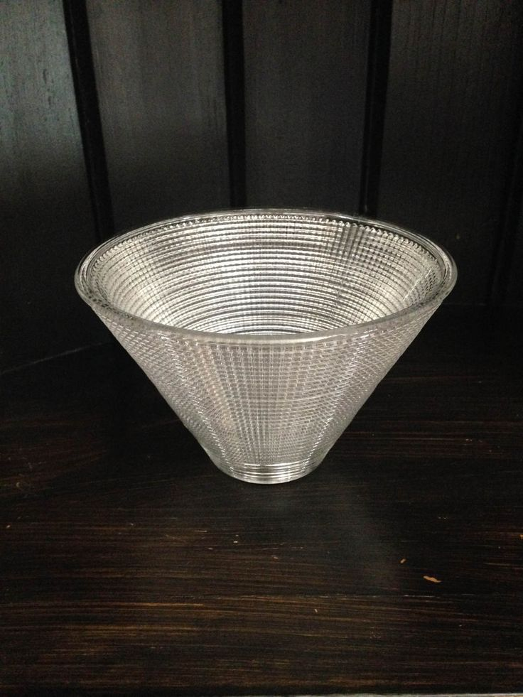 """Replacement Glass Shade 6 1/4""""/Glass conical lamp shade 6.25 inches/Lipless Glass Lamp Shade/Glass Lamp Shade by PhilomenasCloset on Etsy"""