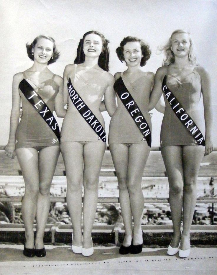Miss America contestants 1949...  I wish the pageant still had integrity.
