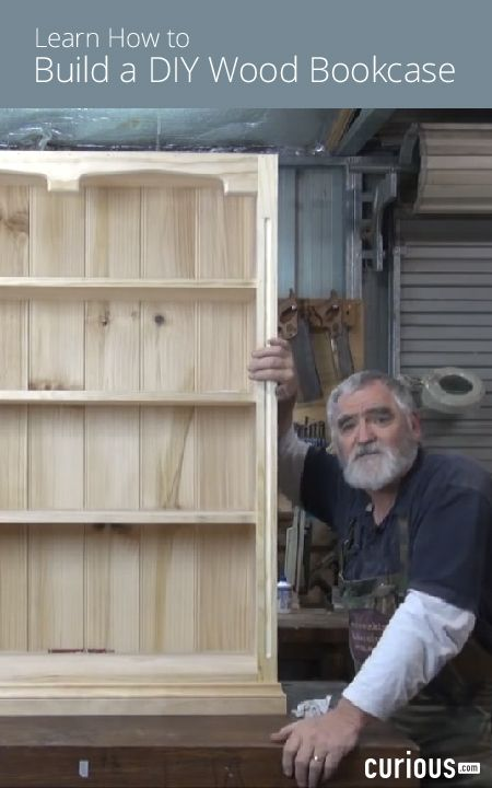 Woodworking Master Class - Building a DIY Wood Bookcase