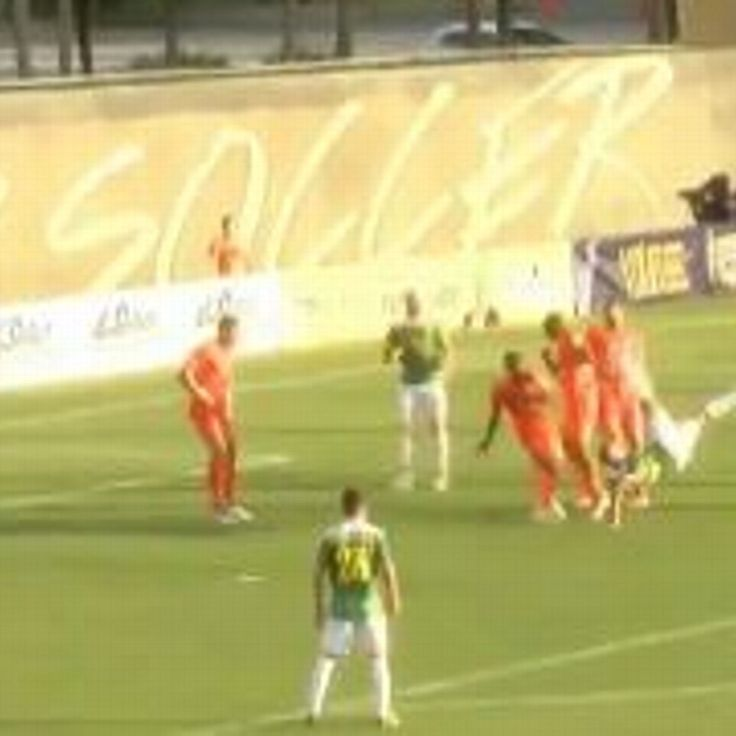 Joe Cole scores for Tampa Bay Rowdies in NASL with bicycle kick