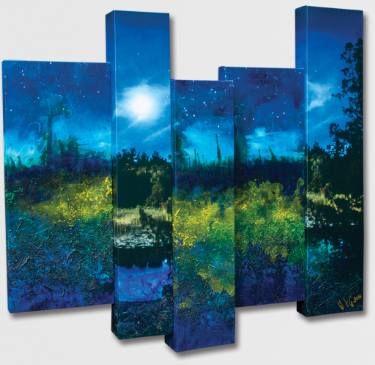 "Saatchi Art Artist Paul Brandejs; Painting, ""After the Sunset"" #art"
