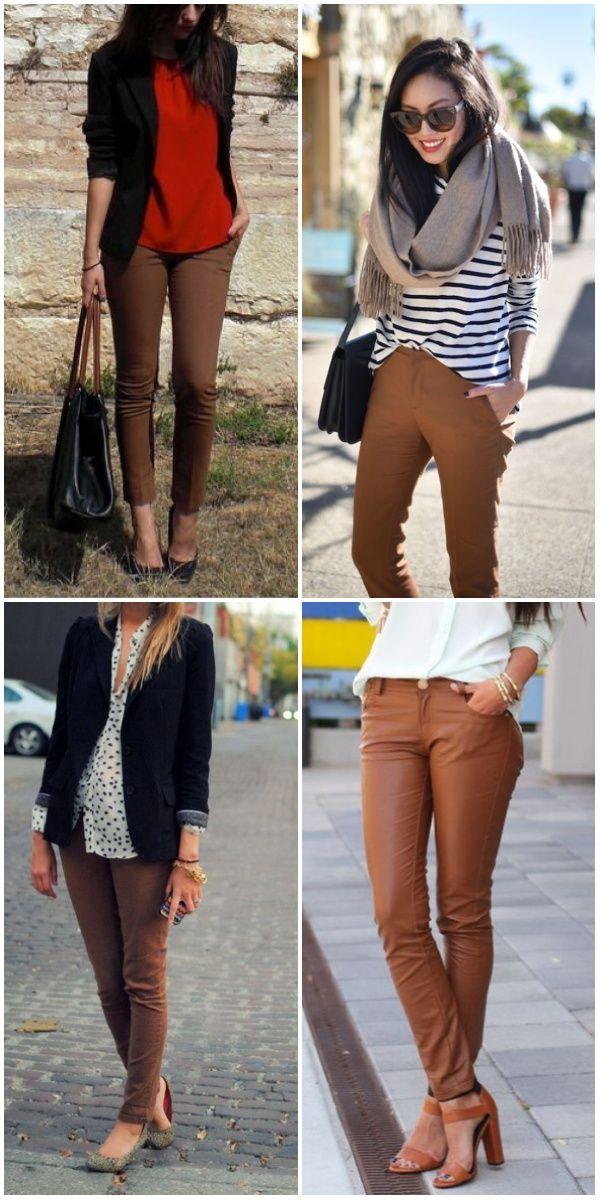Brown pants / pantalones café