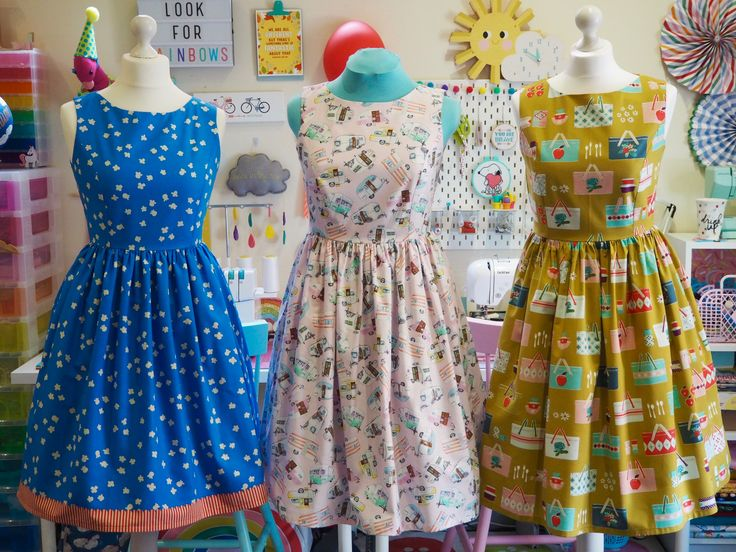 Made To Order Ladies Dress - Handmade Vintage Style Dress - Smile & Make