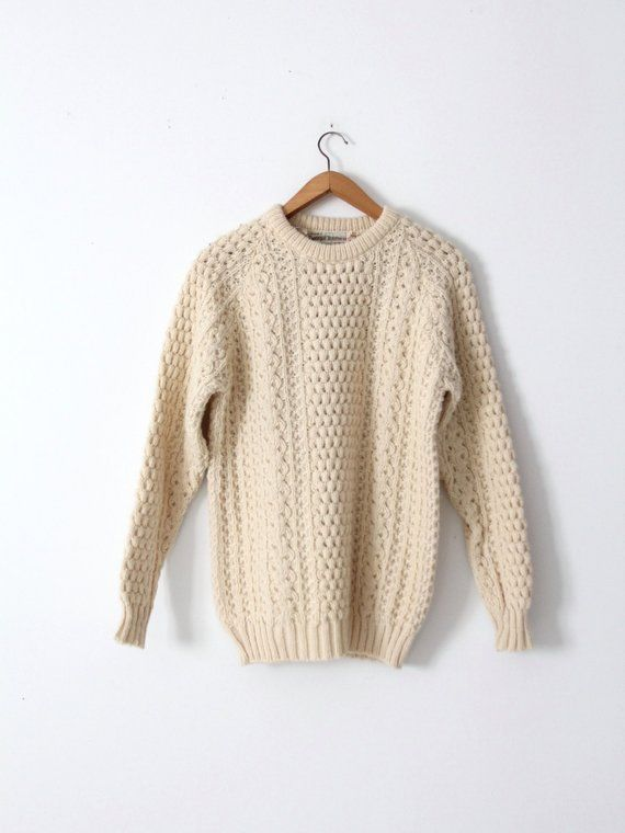 800766a49346 vintage fisherman sweater
