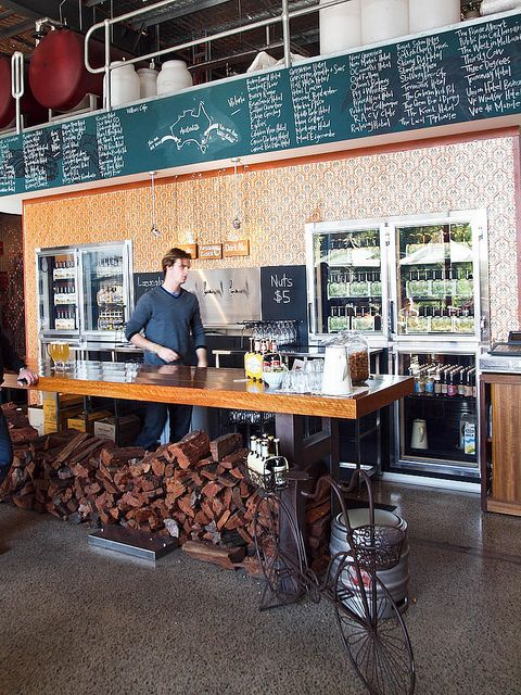 White Rabbit Brewery - the firewood, the chalk, the coolers