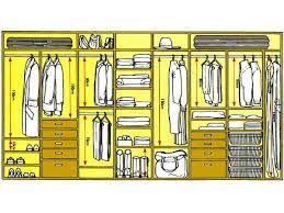 Image result for какой должна быть глубина шкафа для плечиков
