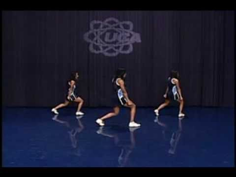 Level 2 UCA cheer dance- show from front - YouTube