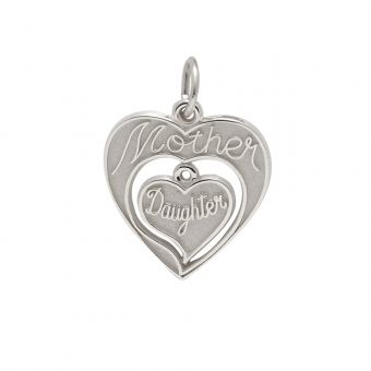 Sterling Silver Charm - Mother/Daughter BreakApart #MothersDay