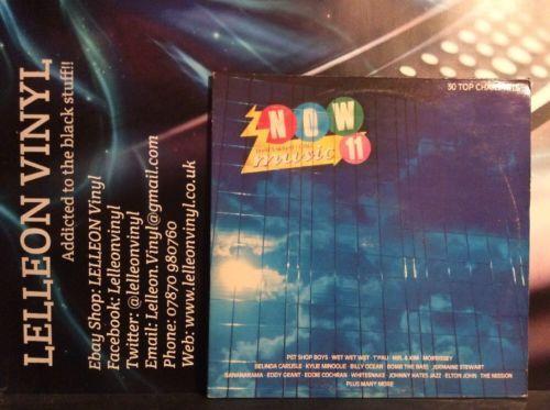 NOW11 Compilation Double LP  Vinyl Record NOW11Pop Rock Soul 80's Elton John Music:Records:Albums/ LPs:Pop:1980s