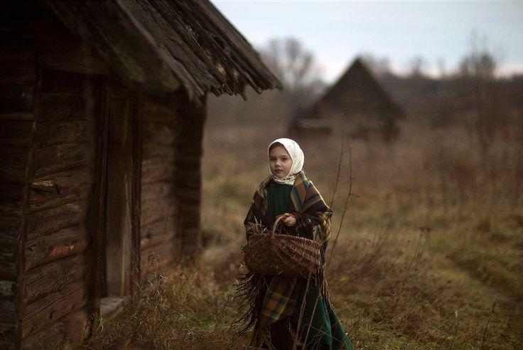 Russian girl. Rural. Russian village. машенька и три медведя... by Oksana Tatsenko on 500px