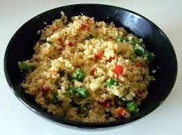 Recept: Bloemkool rijst ~ Geweldig Gezond