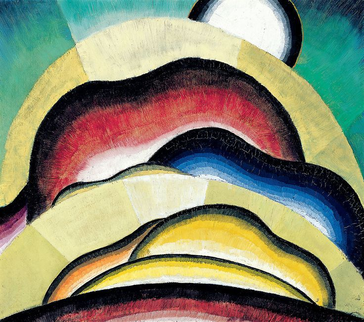 "spacecamp1: ""Arthur Dove, Sunrise, 1924 """