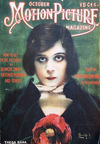 Motion Picture Magazine - Theda Bara - silent film magazine