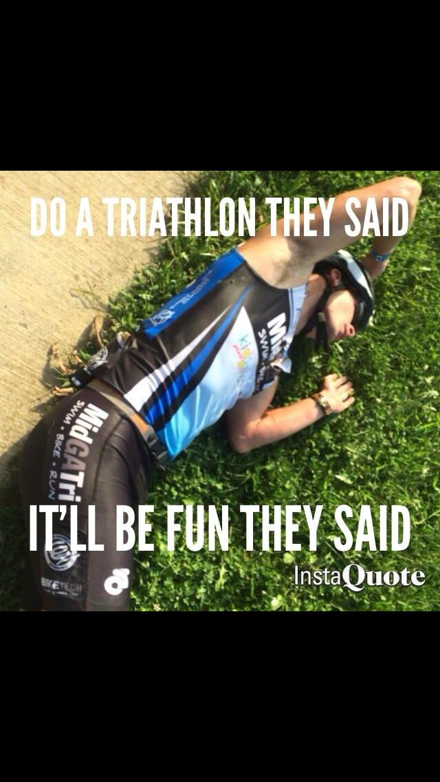 Triathlon humor