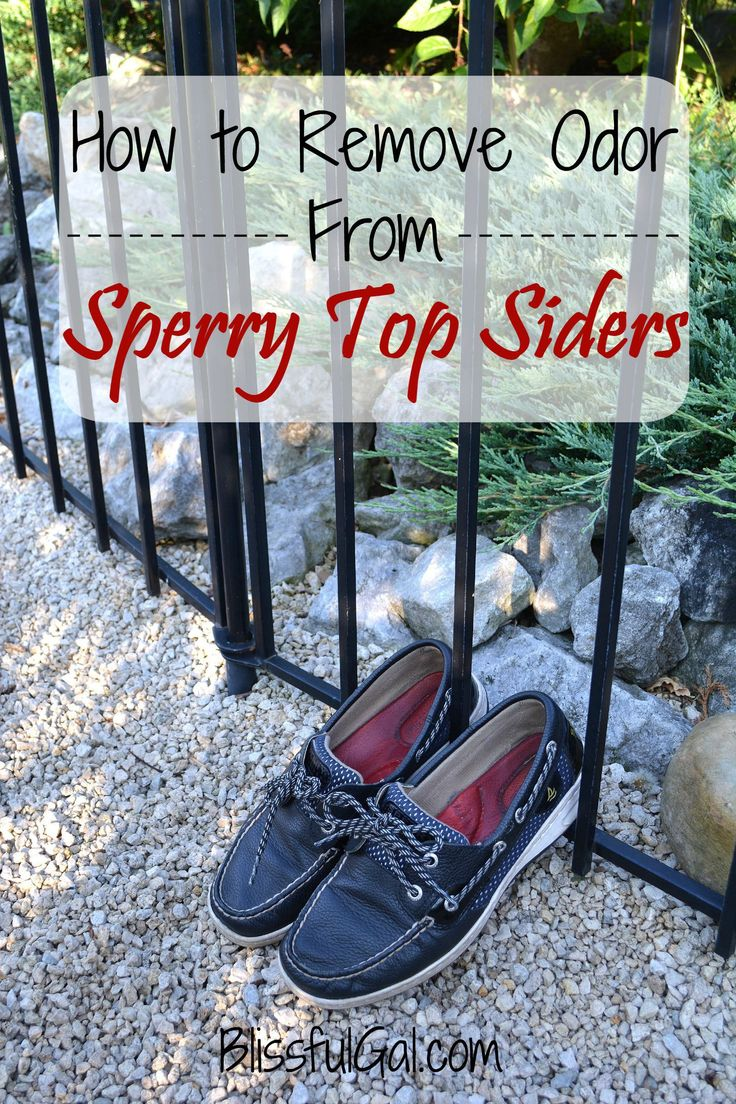 With summer in full swing, and us wearing our Sperry Top Siders (or any other boat shoe) all the time without socks, they tend to smell.  And they smell bad.  Here are some great tips on how to remove the smell from your Sperry's!
