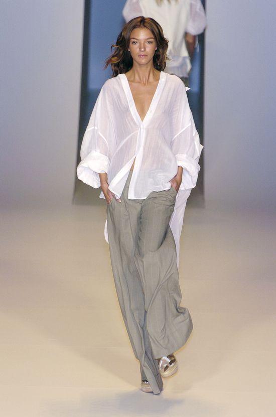 Stella McCartney Spring 2005 ready-to-wear collection, Mariacarla Boscono