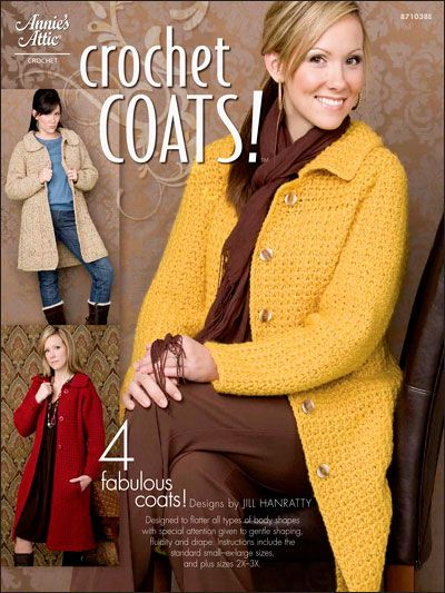 Crochet - Crochet Clothing - Jacket & Coat Patterns - Crochet Coats!