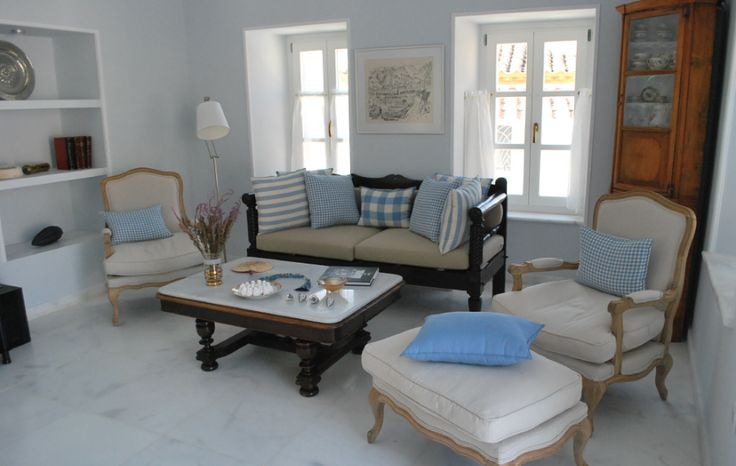 Executive Azure holiday apartment at Hydra's Chromata, self-catering holiday apartments in Hydra Island Greece