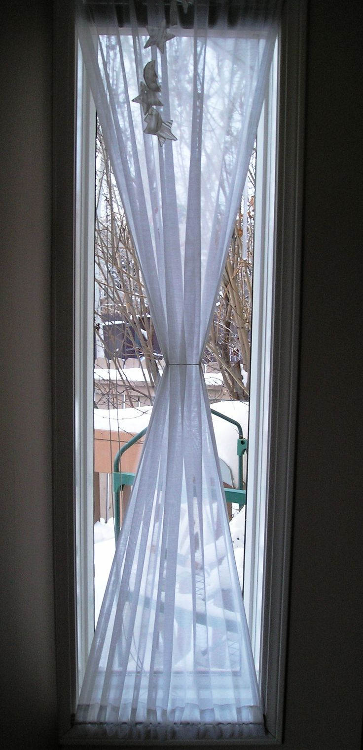 Narrow Window Curtains
