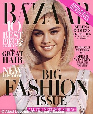 Out soon: Read the full interview in Harper's Bazaar, on newsstands February 20