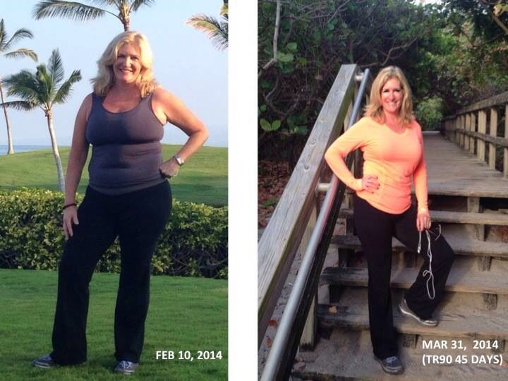 TR 90 - 17 inches, 17 pounds, 7% Body FAT in 45 days ~  Look Better Naked!