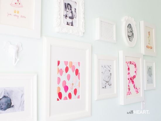 Ruby's Nursery {With Heart Blog}