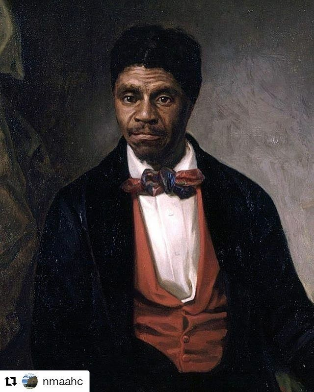#Repost @nmaahc with @repostapp    The case of Dred Scott suing for his and his wifes freedom from enslavement ended with the United States Supreme Court refusing to acknowledge African Americans as citizens. After 10 years of litigation the decision was read #onthisday in 1857. The court also decided in this case that it was unconstitutional for the federal government to regulate slavery in U.S. territories. Northerners were outraged by this decision and worked to ensure the election of…