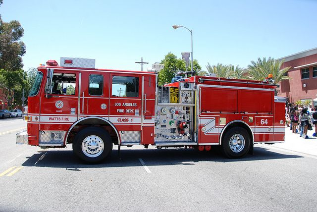 Los Angeles Fire Department | LOS ANGELES FIRE DEPARTMENT (LAFD) ENGINE 64 | Flickr - Photo Sharing!