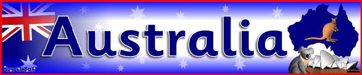 Australia display banner (SB2450) - SparkleBox