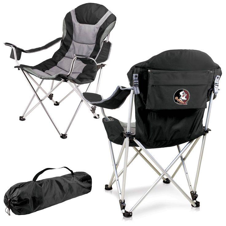Florida State Seminoles Reclining Camp Chair - Black - $89.99